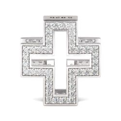 Christian Cross Charm Sterling Silver