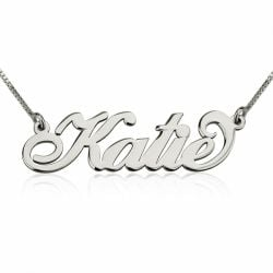 Three Tone Name Necklace