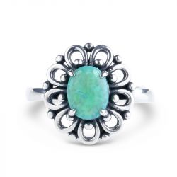 Floral Opal Ring