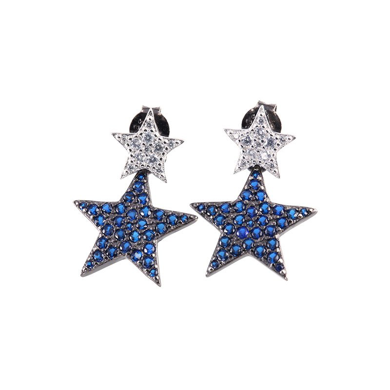 Buy Star Earrings Drops, JEED0020 for $75.00 in Jeulia store