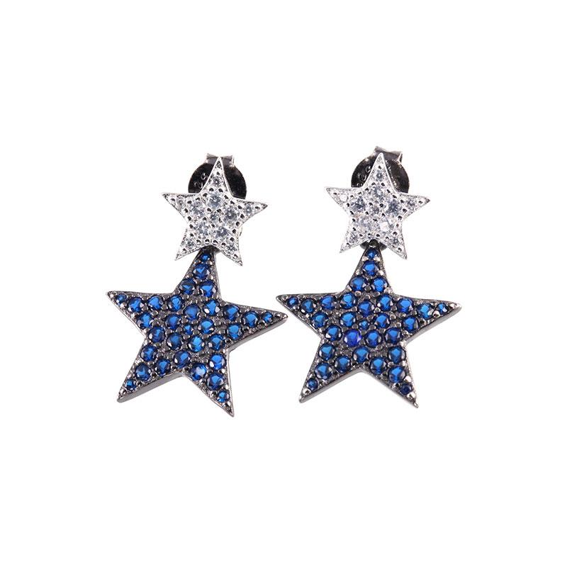 Star Earrings Drops, JEED0020