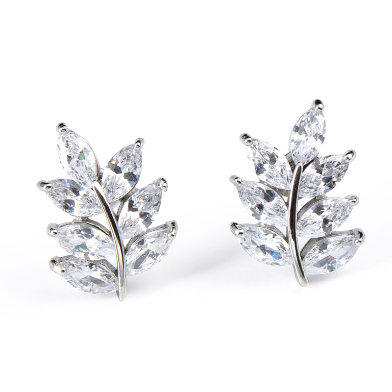 Buy Tree Design Sterling Silver Stud Earrings, JEES0007 for $75.00 in Jeulia store