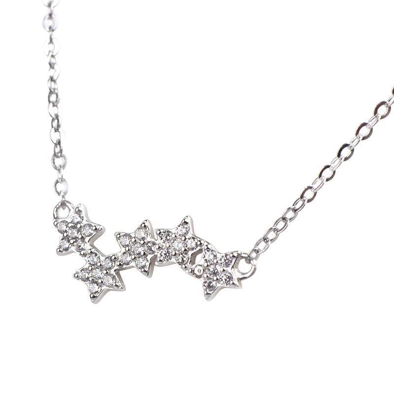 Buy Asymmetric Star Necklace, JENF0021 for $65.00 in Jeulia store