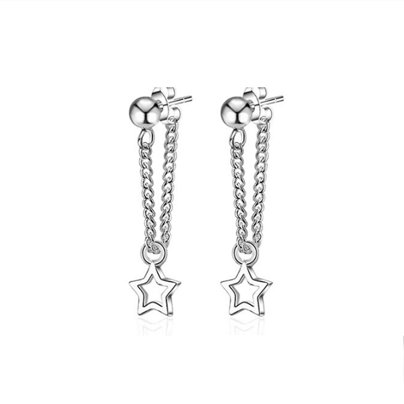 Buy Star Tassel Earring Drops, JEED0016 for $39.00 in Jeulia store