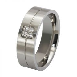 Simple Stainless Steel Men's Band