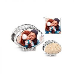Personalized Photo Charm Sterling Silver
