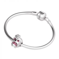 Cute Skull Charm Sterling Silver