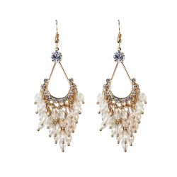 Bead Chandelier  Earrings