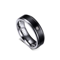 Jeulia Titanium Steel Women's Band