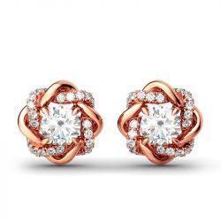Knot of Love Stud Earrings