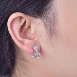 Crown Earring Drops
