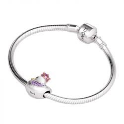 Duck Queen Charm Sterling Silver