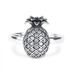 Pineapple Sterling Silver Ring