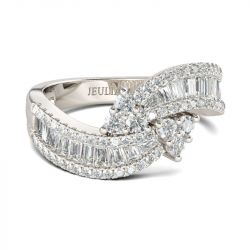 Bypass Sterling Silver Women's Band