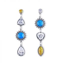 Love at First Sight Opal Earrings