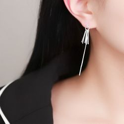 Art Deco Tassel Earrings Drops