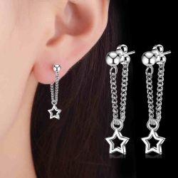 Star Tassel Earring Drops