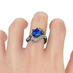 Jeulia Modern Dragon Ring