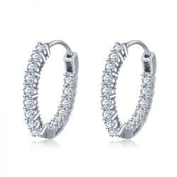 Classic Sterling Silver Hoop Earrings