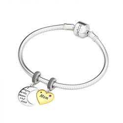 Love Mom Pendant Sterling Silver