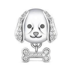 Labrador Retriever Charm Sterling Silver