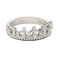 Cute Crown Sterling Silver Ring