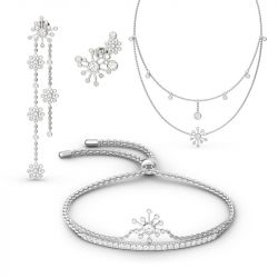 Dandelion Sterling Silver Jewelry Set