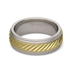 Mechanical Style Stainless Steel Men's Band