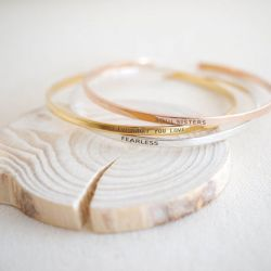 Engravable Cuff Bracelet Sterling Silver