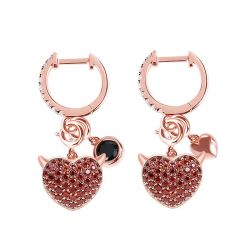Devil with Kind Heart Earrings