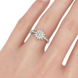 Star Sterling Silver Ring