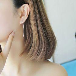 Simple Asymmetric Earring Drops