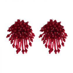 Acaleph Tassel Earrings