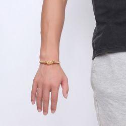 Jeulia Stainless Steel Spring Men's Bracelet