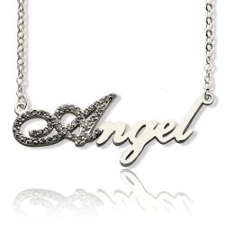 Als Script Name Necklace
