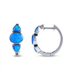Jeulia Fall in Love with the Ocean Earrings