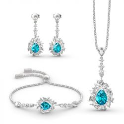 """Love is in the Air"" Sterling Silver Jewelry Sets"