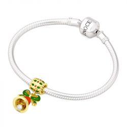 Cute Jingle Bell Pendant Sterling Silver
