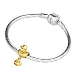 Baby Duck Charm Sterling Silver