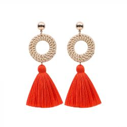Classic Tassel Drop Earrings