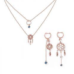 Dreamcatcher Sterling Silver Jewelry Set
