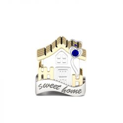 Sweet Home Charm Sterling Silver