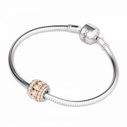 June Birthstone Charm Sterling Silver