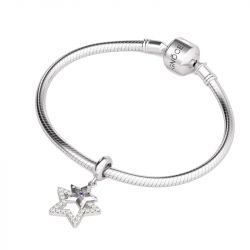 Three Star Pendant Sterling Silver