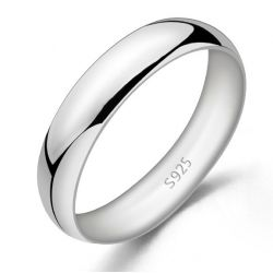 Simple Polished Women's Band