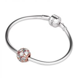 Colorful Stones Charm Sterling Silver
