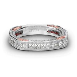 Irregular Sterling Silver Women's Band