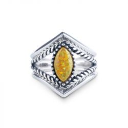 Jeulia Journey Stackable Opal Ring