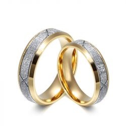Stainless Steel Couple Rings