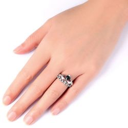 Classic Sterling Silver  Claddagh Ring Set